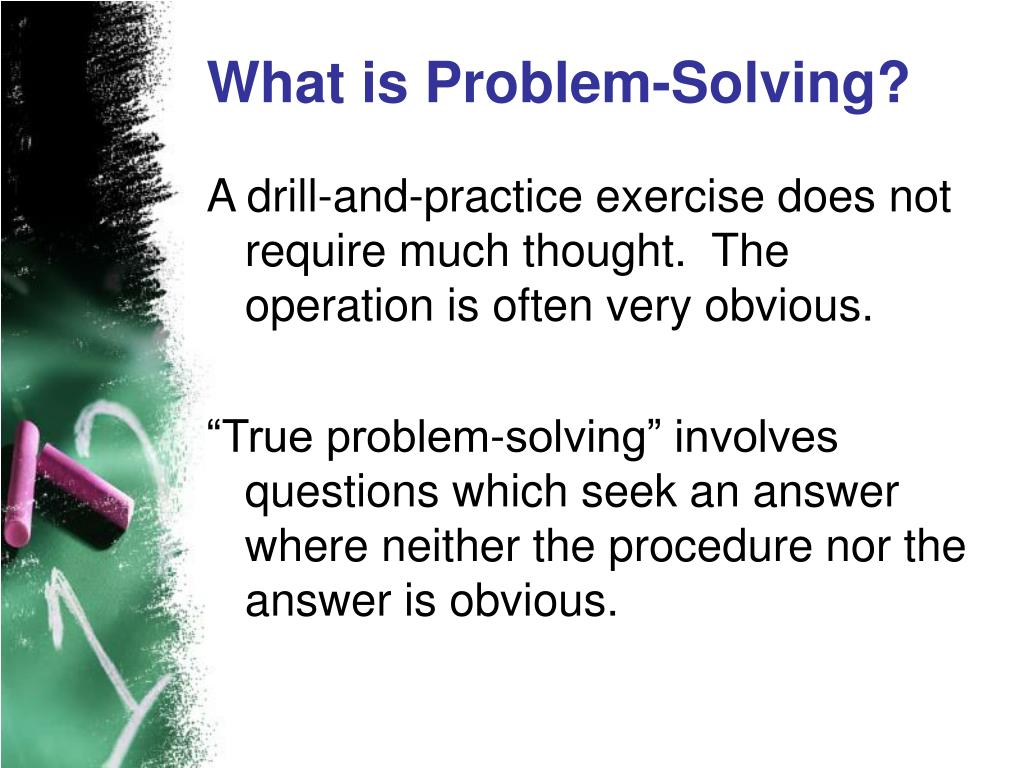 What is Problem-Solving?