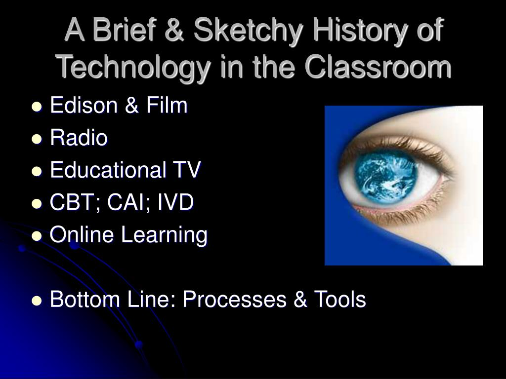 A Brief & Sketchy History of Technology in the Classroom