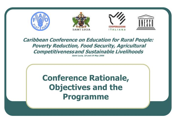 food security in the caribbean New plan for food security in the caribbean new plan for food security in the caribbean [st john's, antigua and barbuda, 13 october 2012] – diversifying agricultural systems and fostering integrated farms are two of six principles that have been proposed to improving productivity and resilience of production.