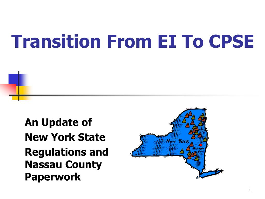 transition from early intervention to preschool ppt transition from ei to cpse powerpoint presentation 106