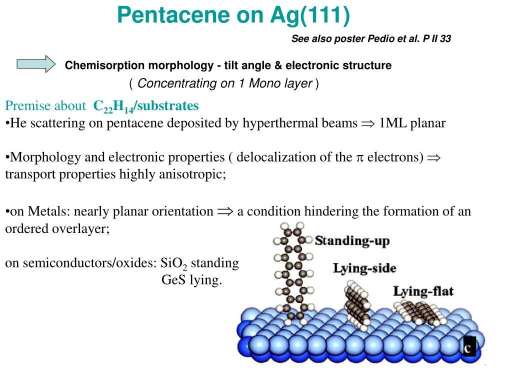 Pentacene on Ag(111)