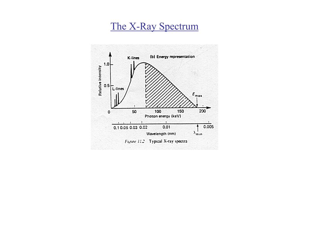 The X-Ray Spectrum
