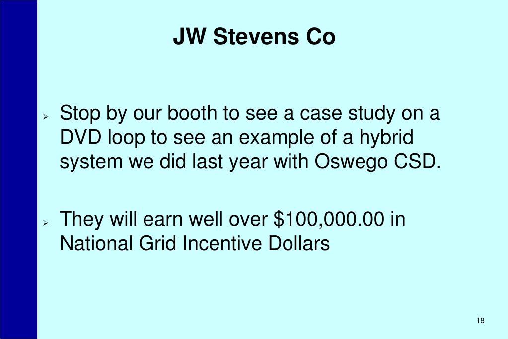 JW Stevens Co