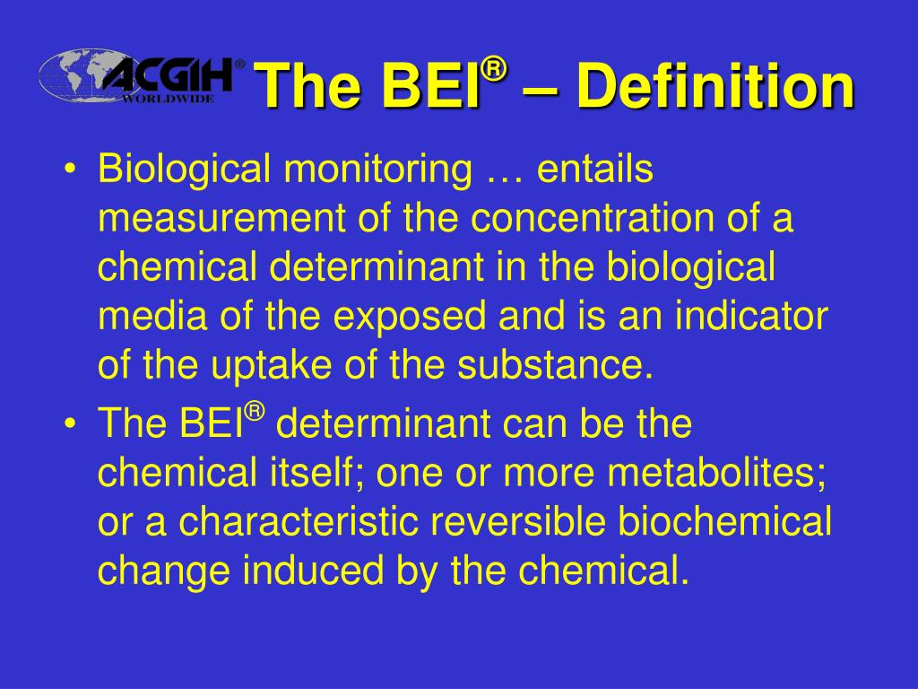 The BEI