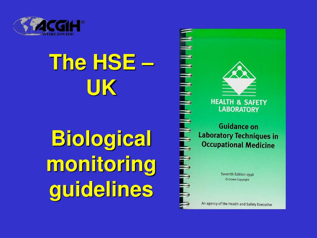 The HSE – UK