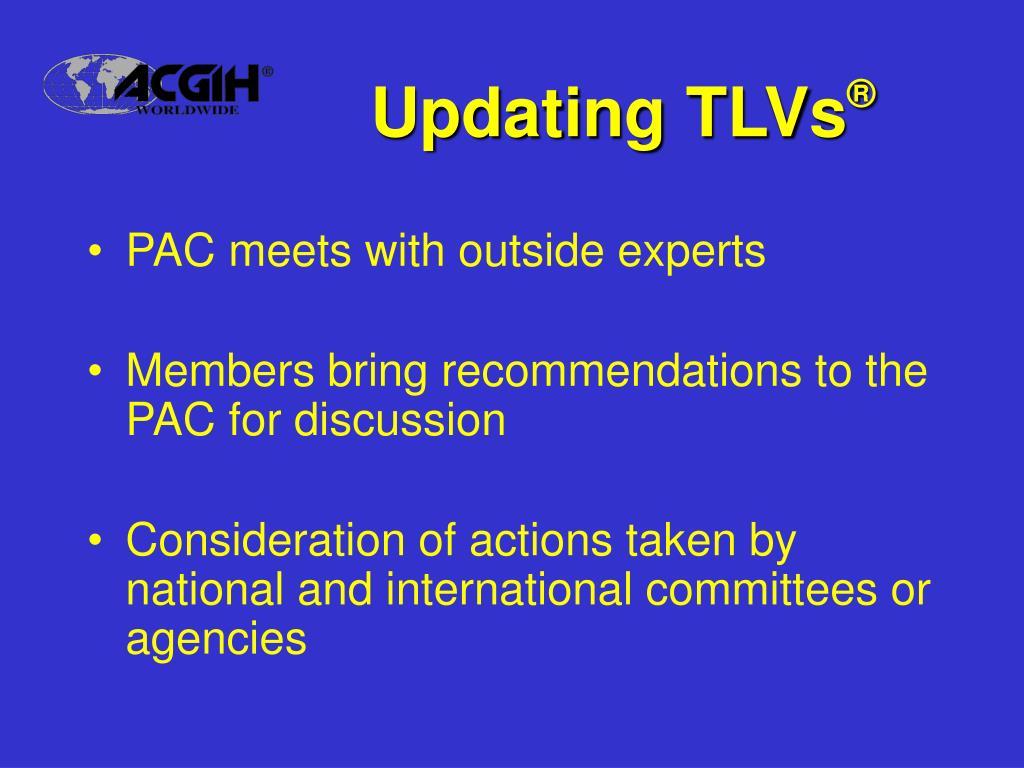 Updating TLVs