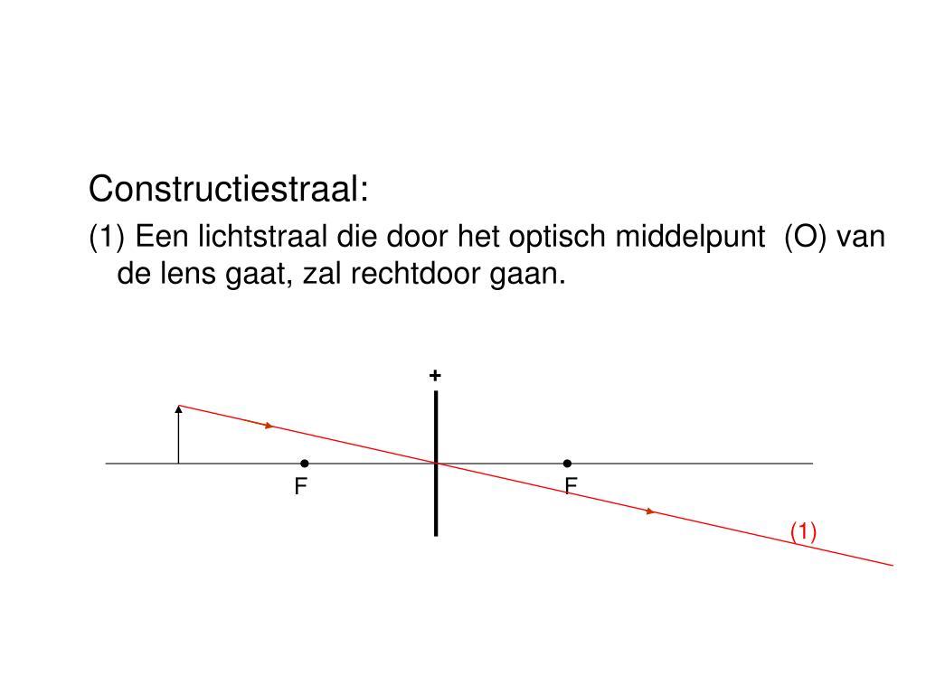 Constructiestraal: