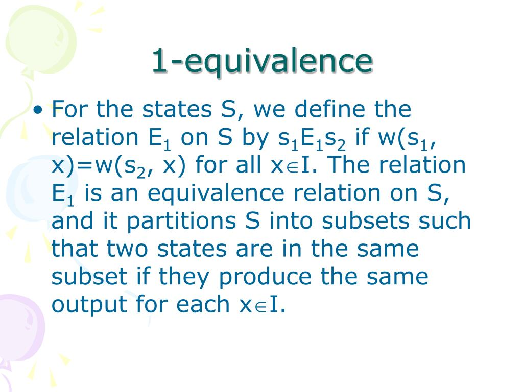 1-equivalence