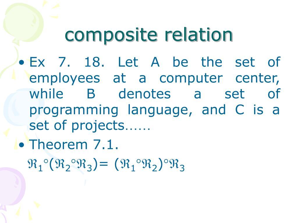 composite relation
