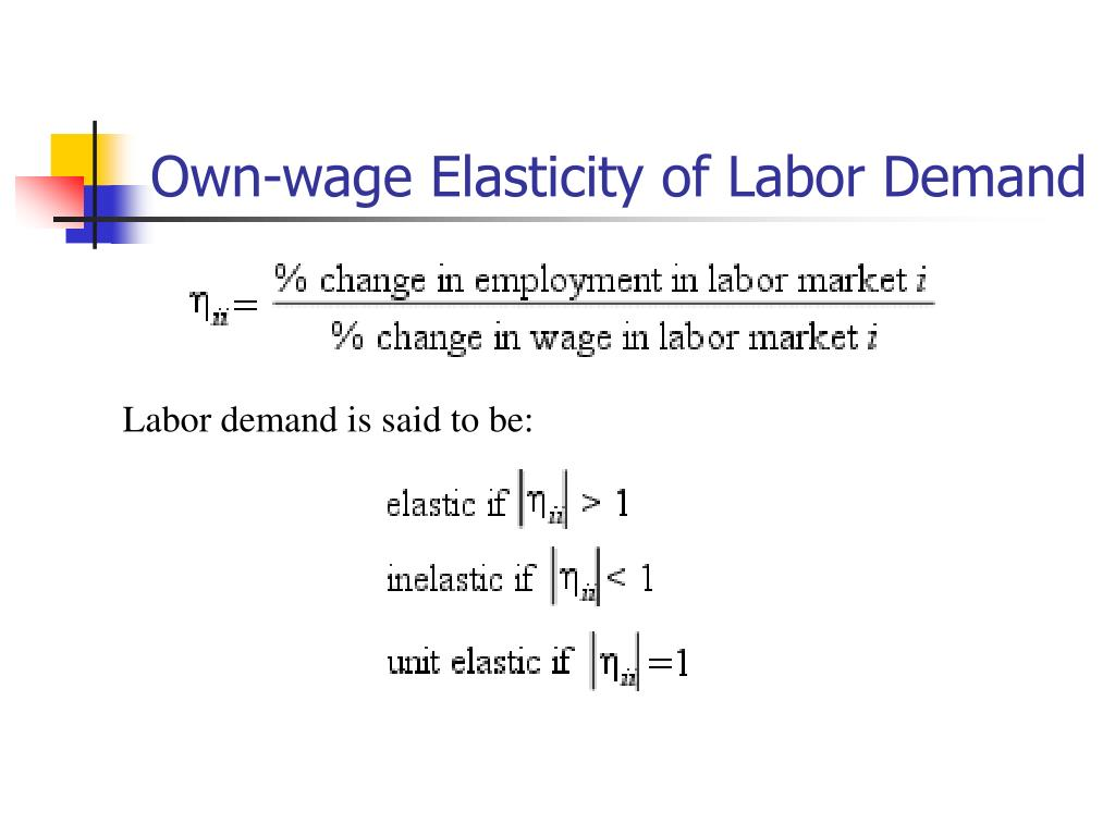 labor demand Causes of shifts in labor demand curve the labor demand curve shows the value of the marginal product of labor as a function of quantity of labor hired.