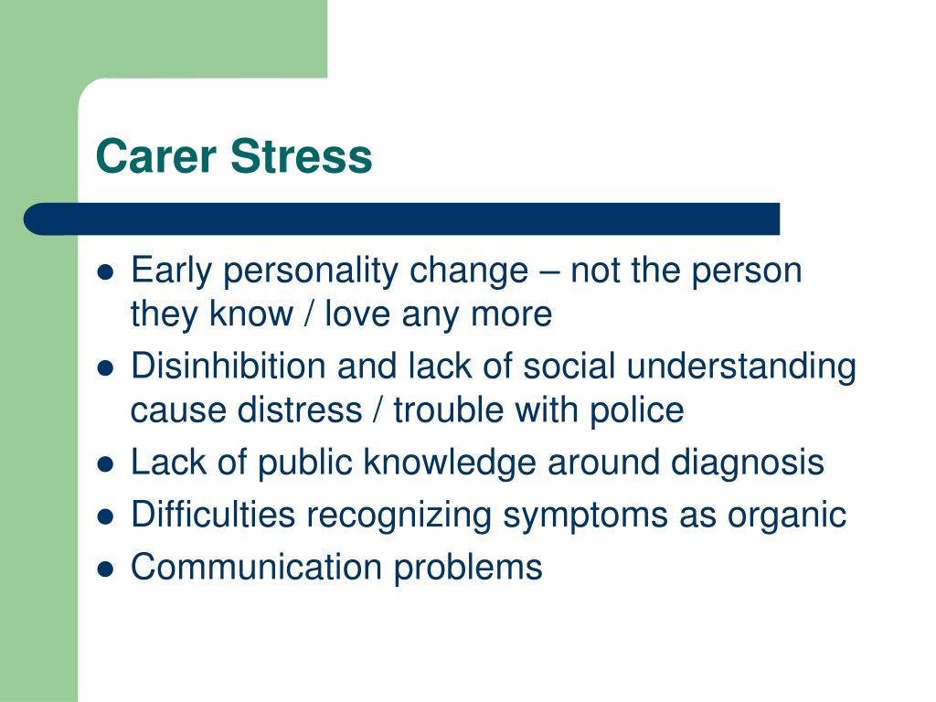 Carer Stress
