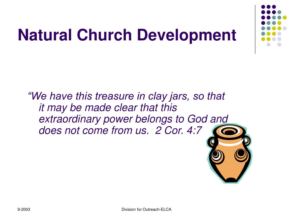 natural church development What is the one thing you could focus on in your church right now, that would  bring about the greatest fruit ncd started and continues as the largest biblical  and.