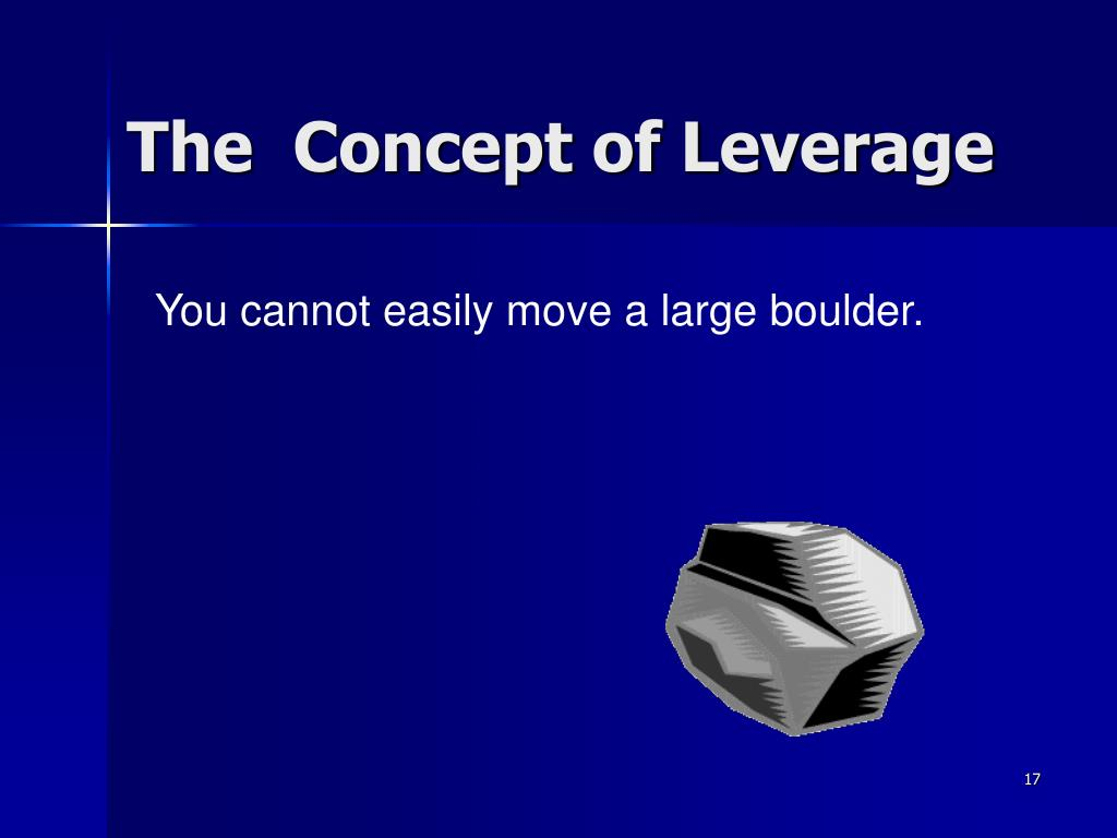 The  Concept of Leverage