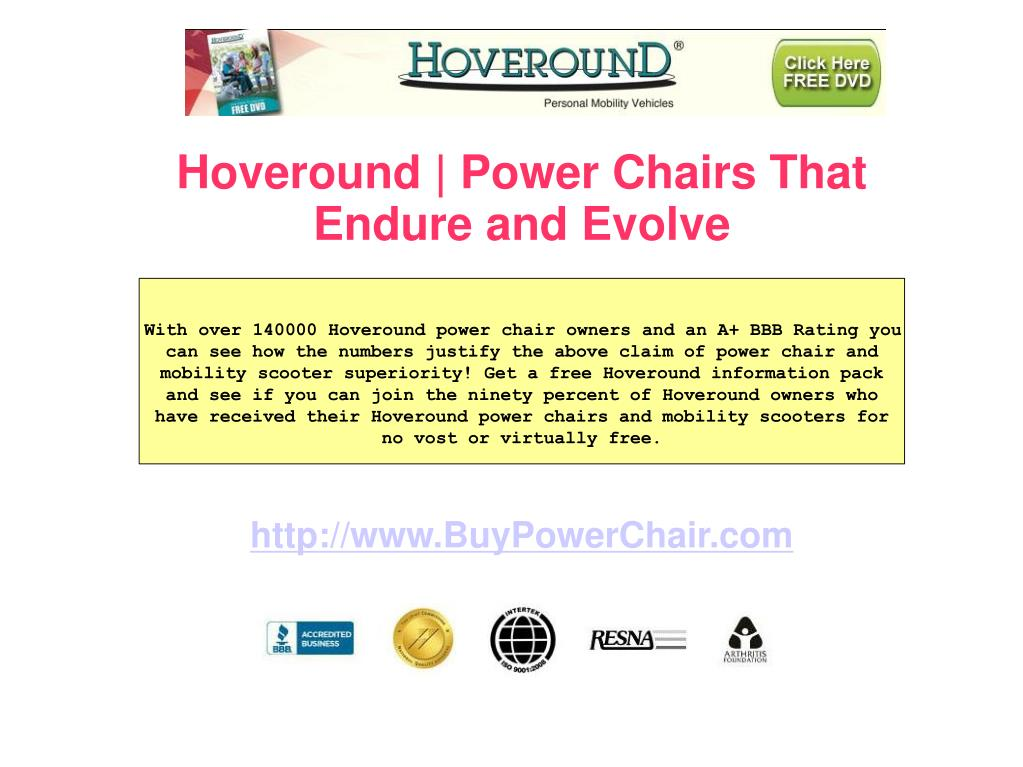 Hoveround | Power Chairs That Endure and Evolve