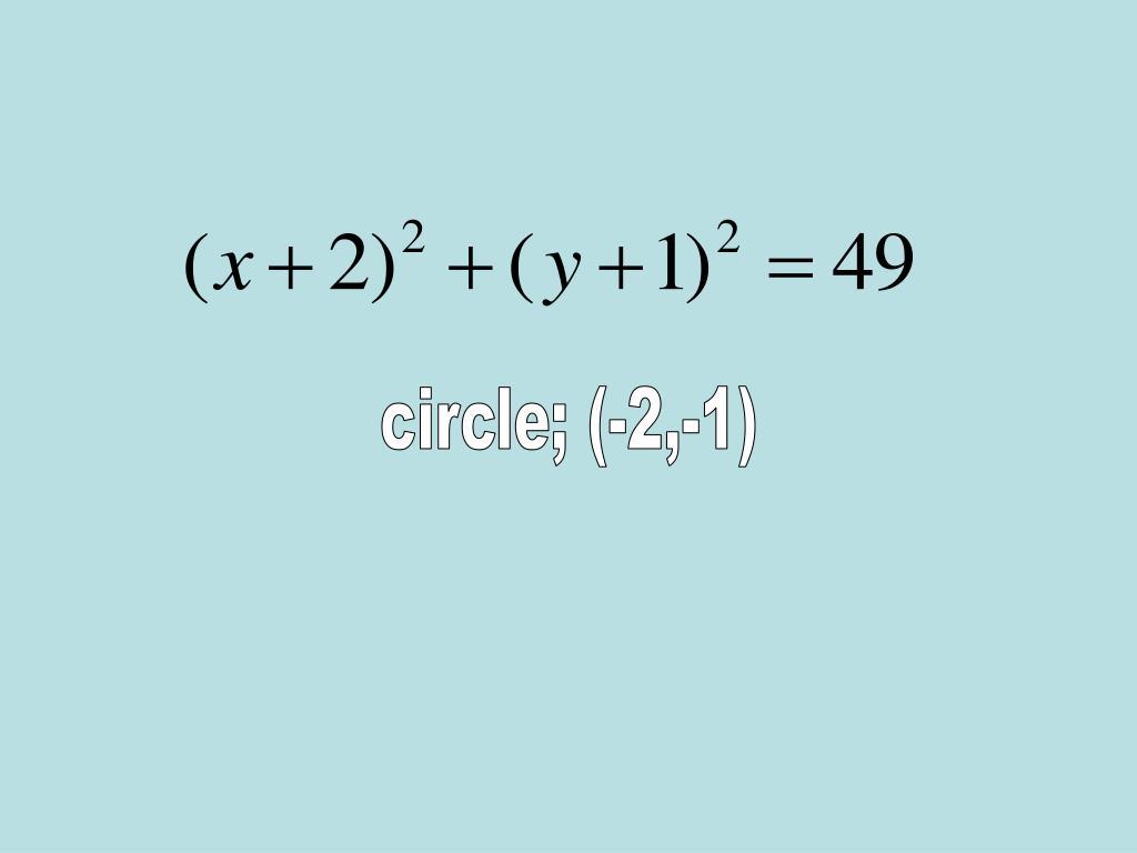 circle; (-2,-1)
