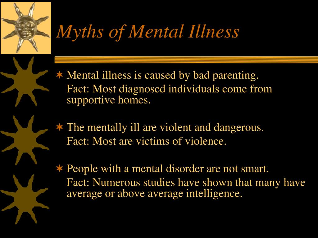 Myths of Mental Illness