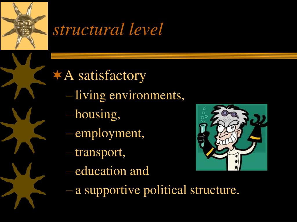 structural level