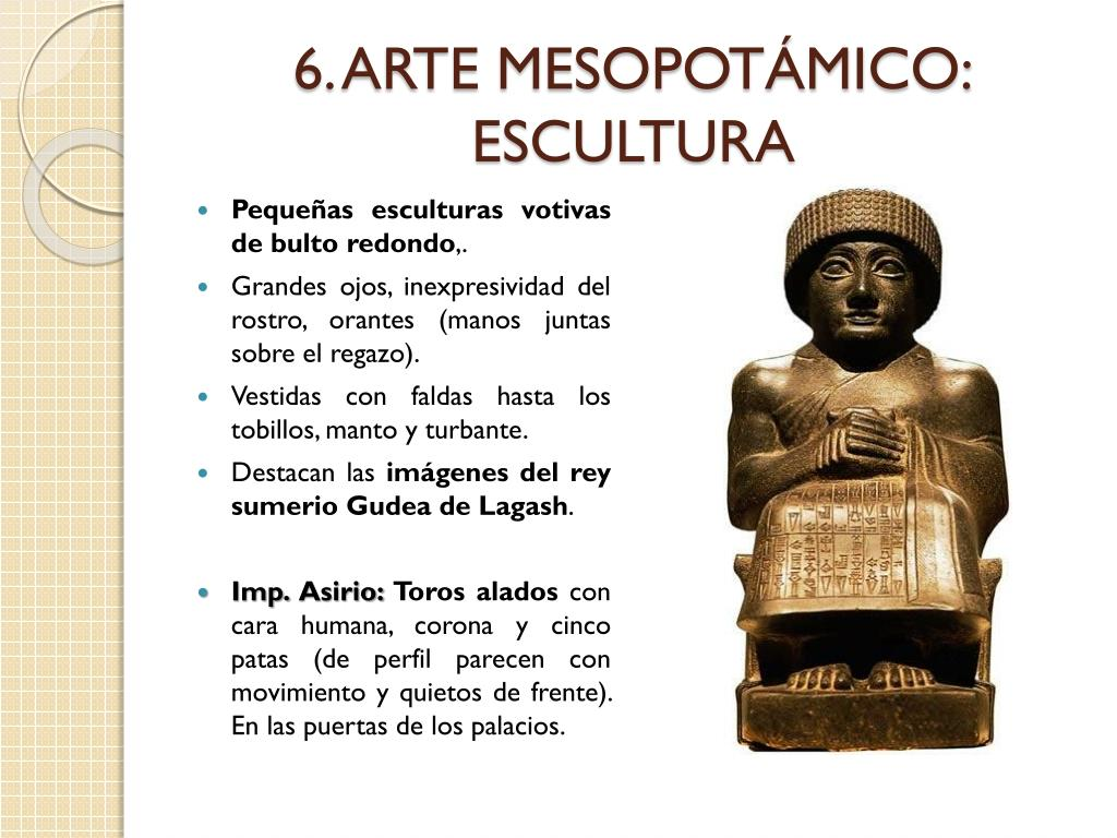 6. ARTE MESOPOTÁMICO: