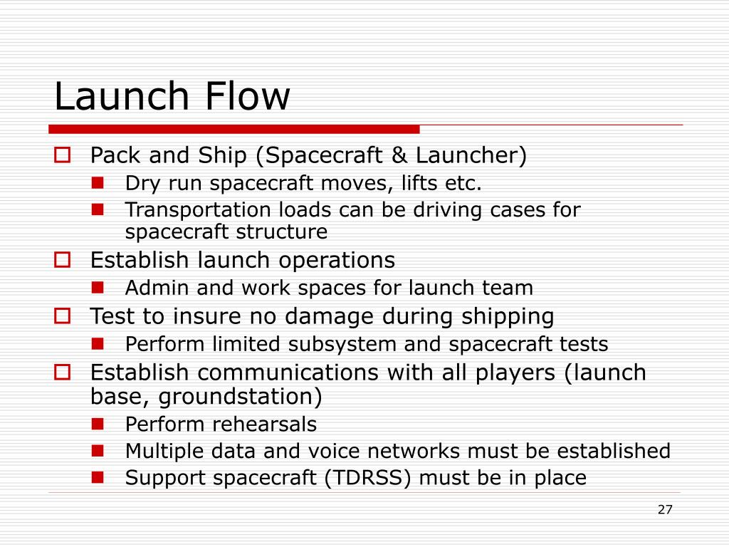 Launch Flow