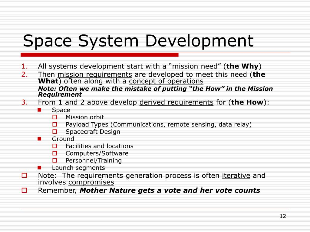 Space System Development