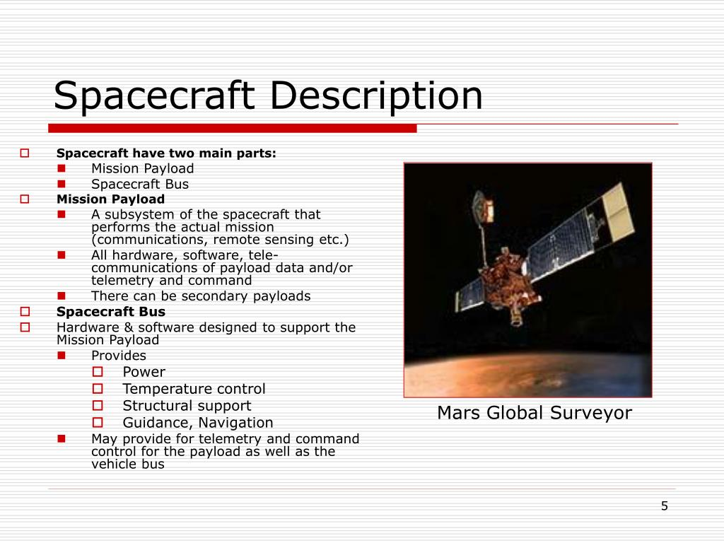 Spacecraft Description