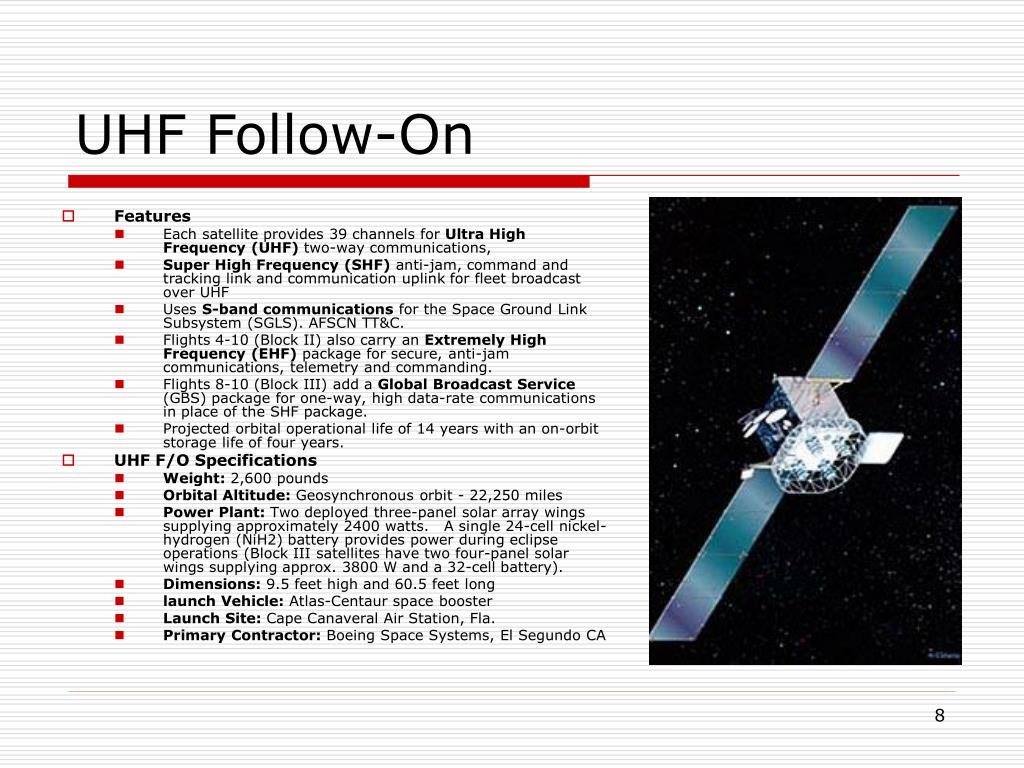 UHF Follow-On