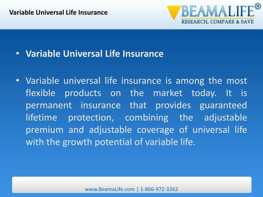 Variable Universal Life Insurance