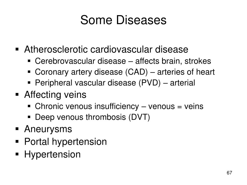 Some Diseases