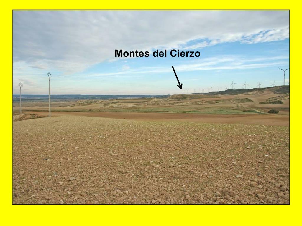 Montes del Cierzo