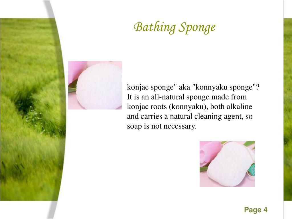 Bathing Sponge