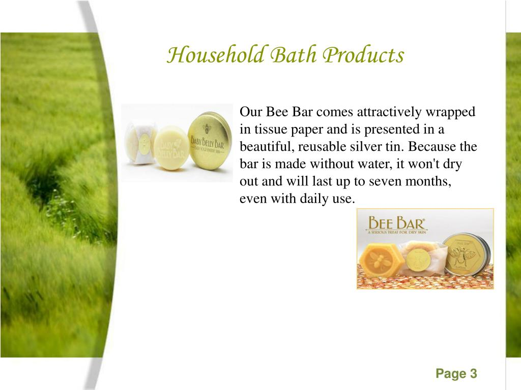 Household Bath Products