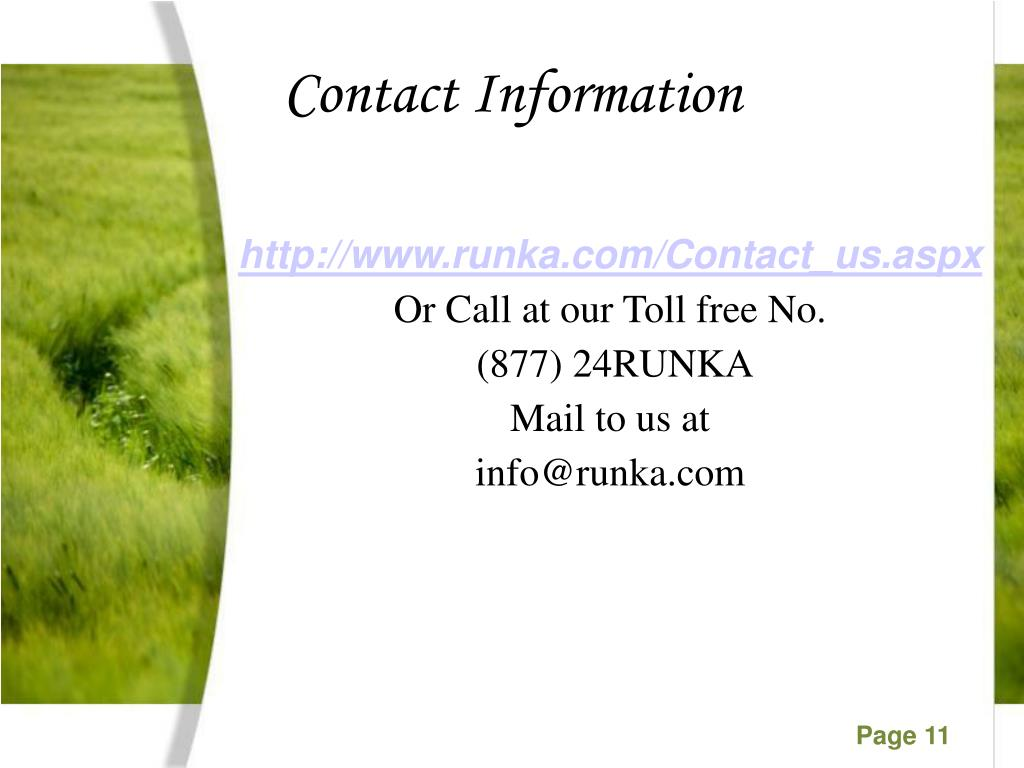 http://www.runka.com/Contact_us.aspx