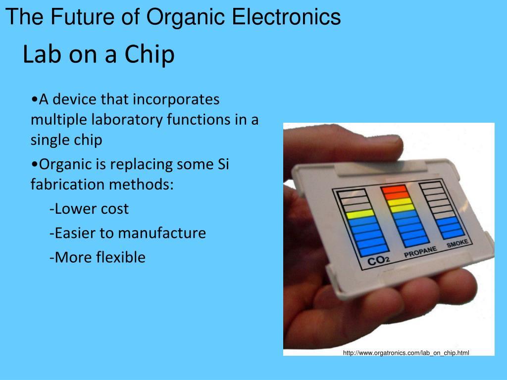 The Future of Organic Electronics