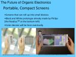 portable compact screens