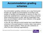 accommodation grading schemes