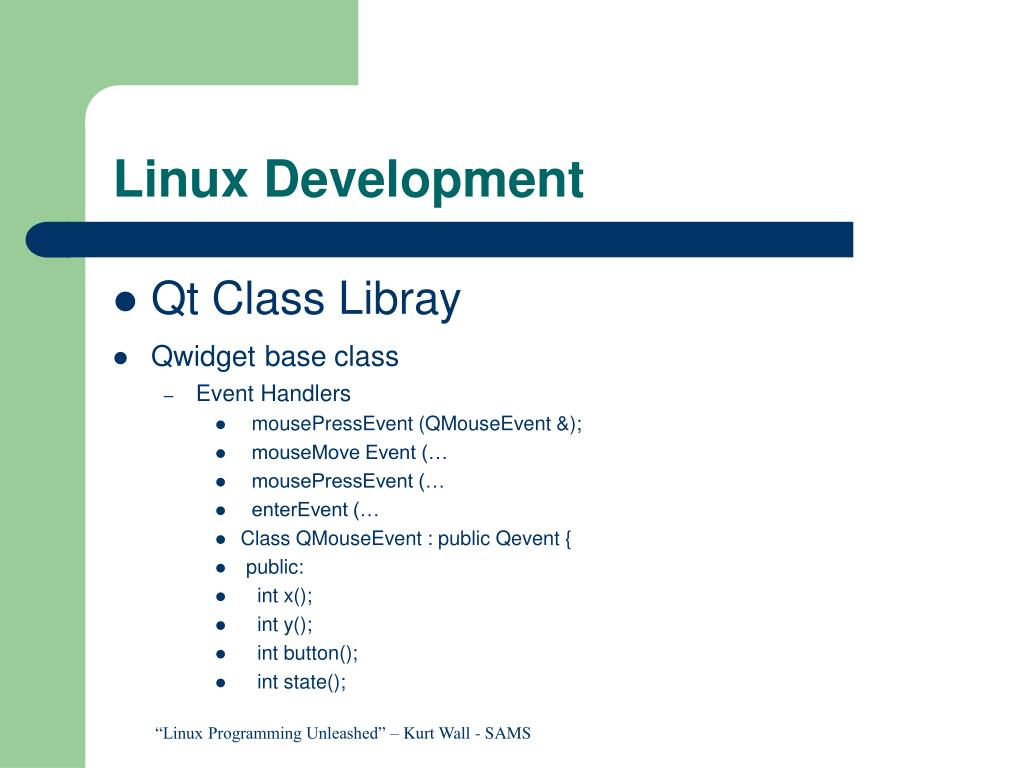 Linux Development
