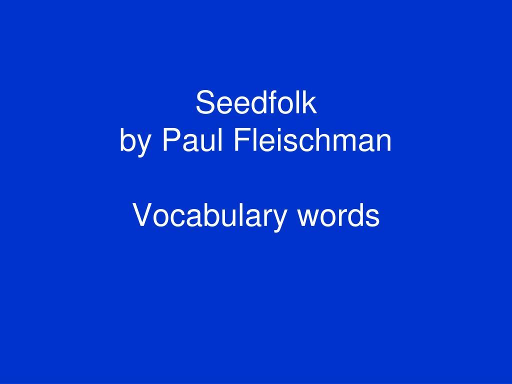 Seedfolk
