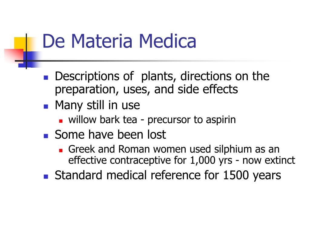 De Materia Medica