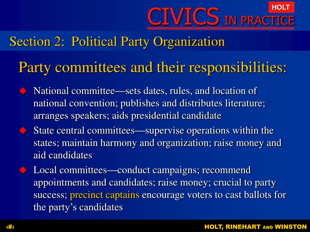 PPT - Chapter 10 Electing Leaders PowerPoint Presentation ...
