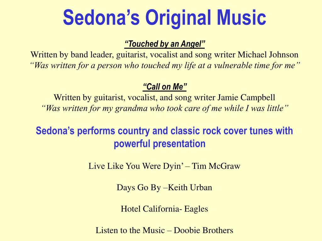 Sedona's Original Music