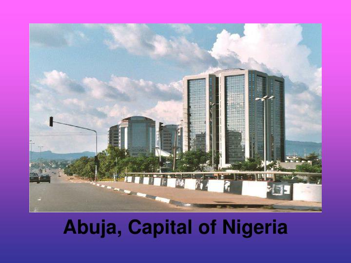 Abuja capital of nigeria