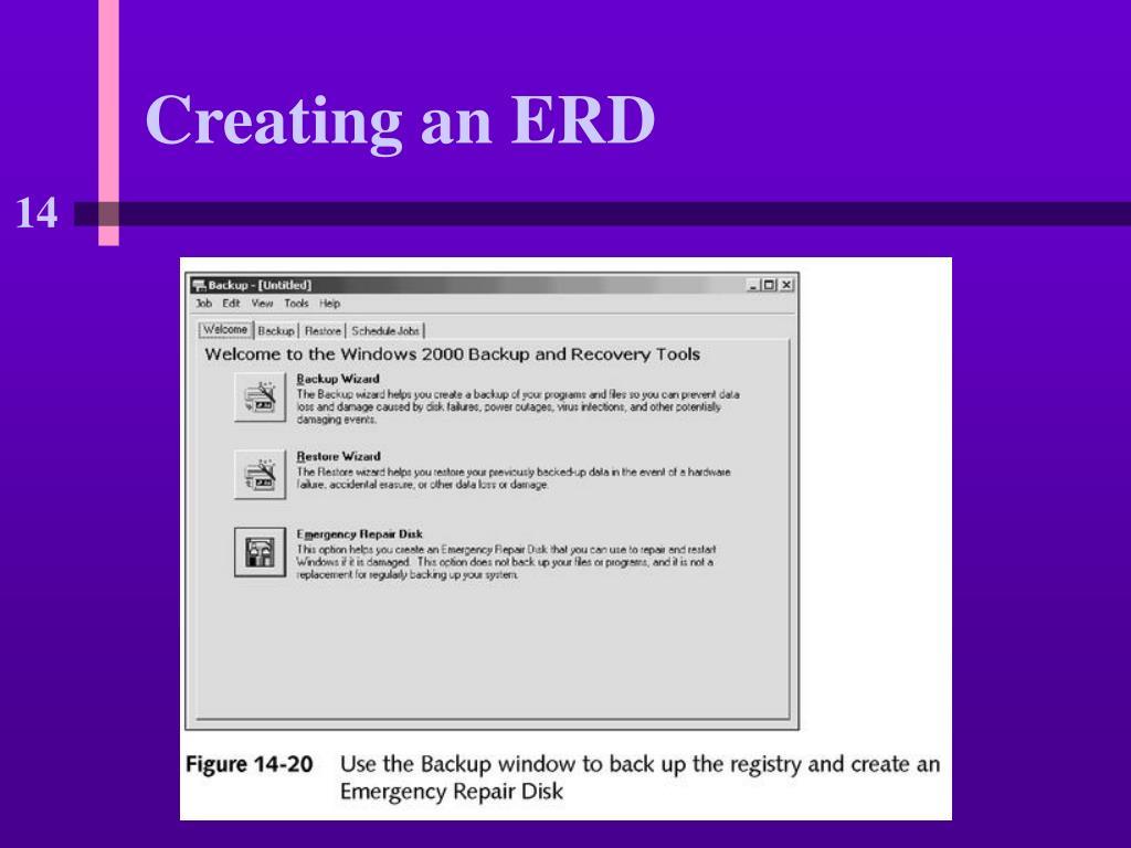Creating an ERD