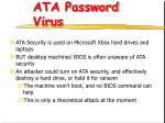 ata password virus