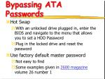 bypassing ata passwords