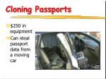 cloning passports