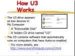 how u3 works