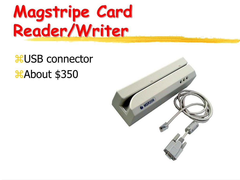 Magstripe Card Reader/Writer
