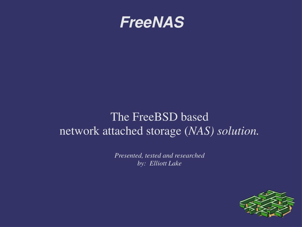 The FreeBSD based