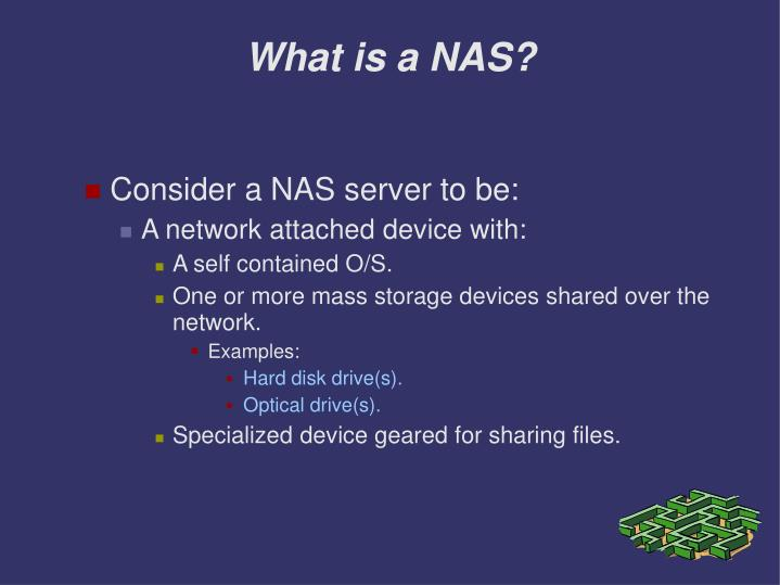 What is a nas