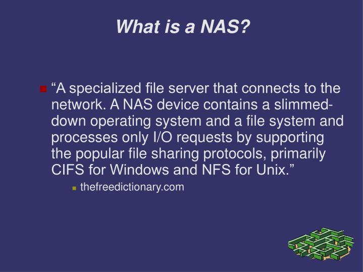What is a nas3